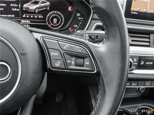 2017 Audi A4 2.0T Technik (Stk: 40476) in Toronto - Image 21 of 30