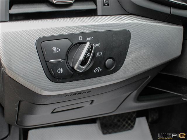 2017 Audi A4 2.0T Technik (Stk: 40476) in Toronto - Image 24 of 30