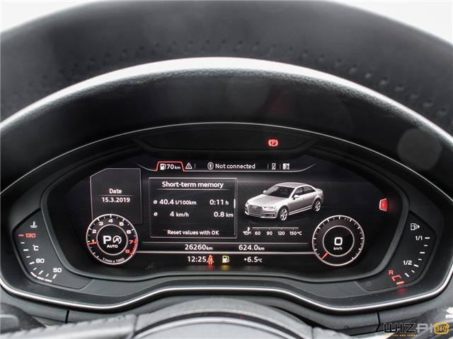 2017 Audi A4 2.0T Technik (Stk: 40476) in Toronto - Image 25 of 30