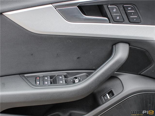 2017 Audi A4 2.0T Technik (Stk: 40476) in Toronto - Image 26 of 30