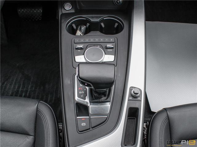 2017 Audi A4 2.0T Technik (Stk: 40476) in Toronto - Image 27 of 30