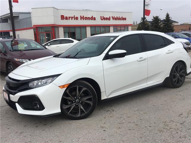 2017 Honda Civic Sport (Stk: U17821) in Barrie - Image 1 of 7