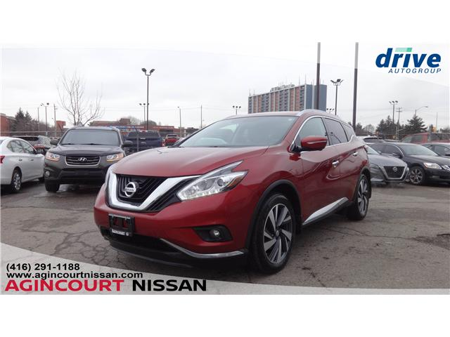 2015 Nissan Murano Platinum (Stk: JW341901A) in Scarborough - Image 1 of 24