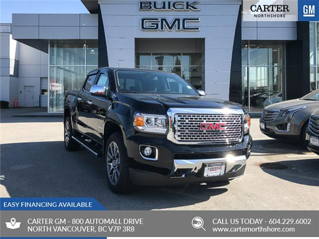 2019 GMC Canyon Denali (Stk: 9CN85780) in North Vancouver - Image 1 of 13