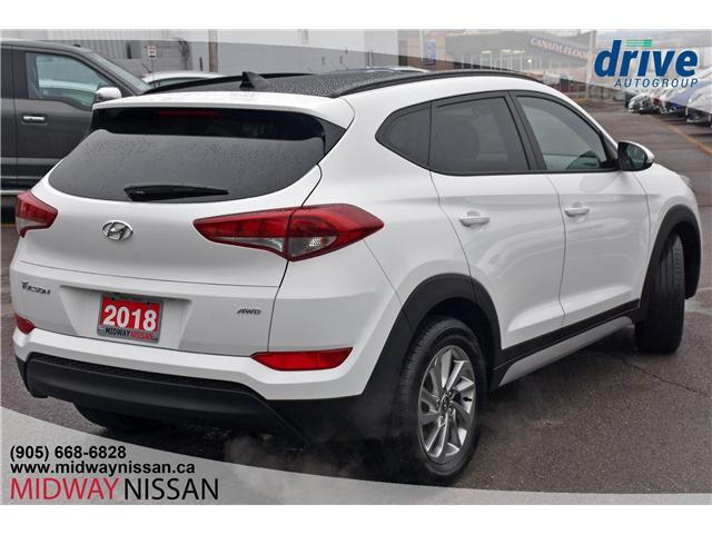 2018 Hyundai Tucson SE 2.0L (Stk: U1645R) in Whitby - Image 10 of 32