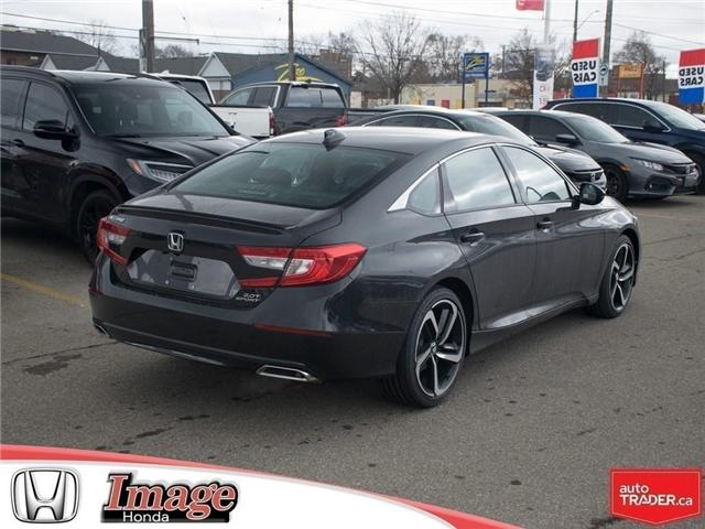 2019 Honda Accord Sport 2.0T (Stk: 9A128) in Hamilton - Image 4 of 18