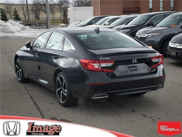 2019 Honda Accord Sport 2.0T (Stk: 9A128) in Hamilton - Image 6 of 18
