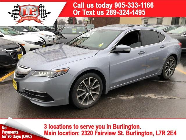 2015 Acura TLX Tech (Stk: 44709) in Burlington - Image 1 of 26