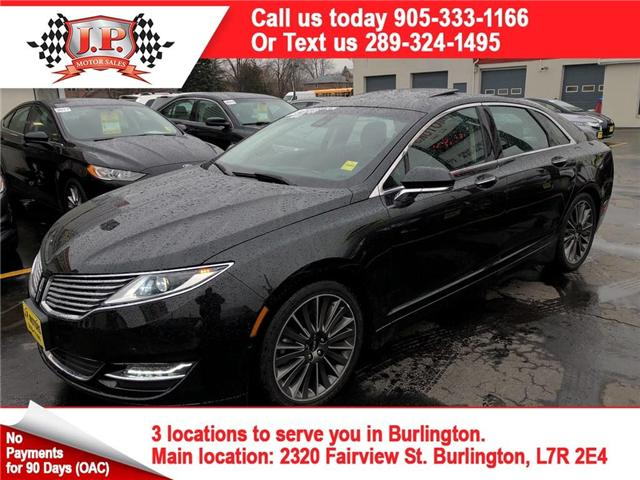 2015 Lincoln MKZ Base (Stk: 46296) in Burlington - Image 1 of 25