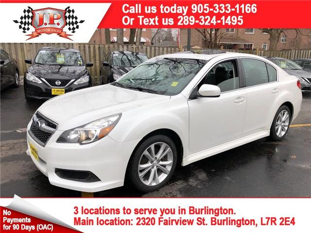 2013 Subaru Legacy 2.5i Limited Package (Stk: 46309) in Burlington - Image 1 of 26
