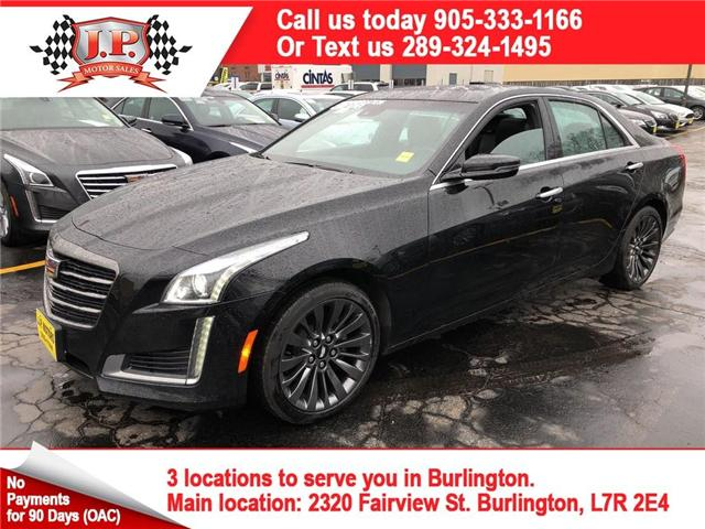 2017 Cadillac CTS 3.6L Luxury (Stk: 46213) in Burlington - Image 1 of 27