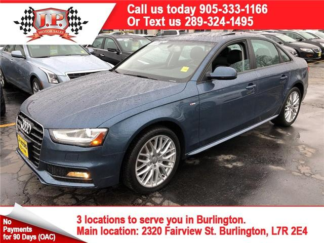 2015 Audi A4  (Stk: 46236) in Burlington - Image 1 of 25