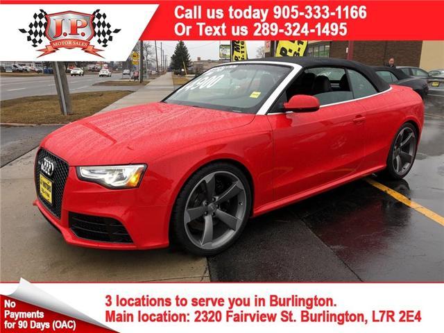 2014 Audi RS 5 4.2 (Stk: 46386) in Burlington - Image 1 of 25