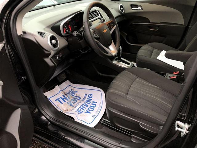 2018 Chevrolet Sonic LT Auto (Stk: 46412r) in Burlington - Image 13 of 24
