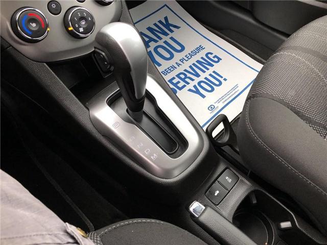 2018 Chevrolet Sonic LT Auto (Stk: 46412r) in Burlington - Image 19 of 24