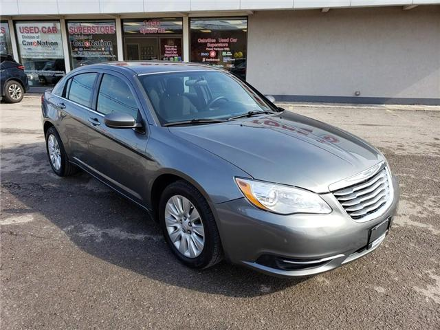 2012 Chrysler 200 LX | ALLOY WHEELS | GREAT VALUE | A/C (Stk: P11744A) in Oakville - Image 2 of 20