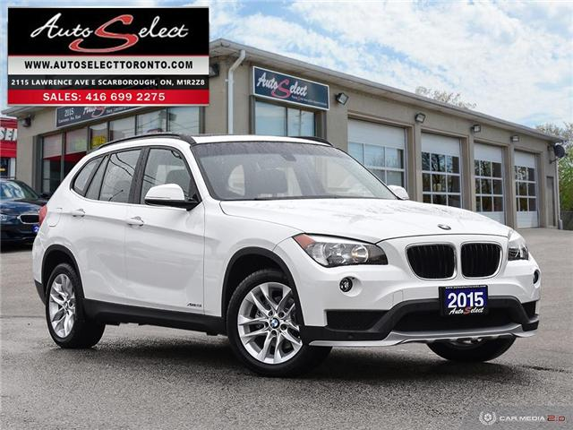 2015 BMW X1 xDrive28i (Stk: 15X1DPX) in Scarborough - Image 1 of 28