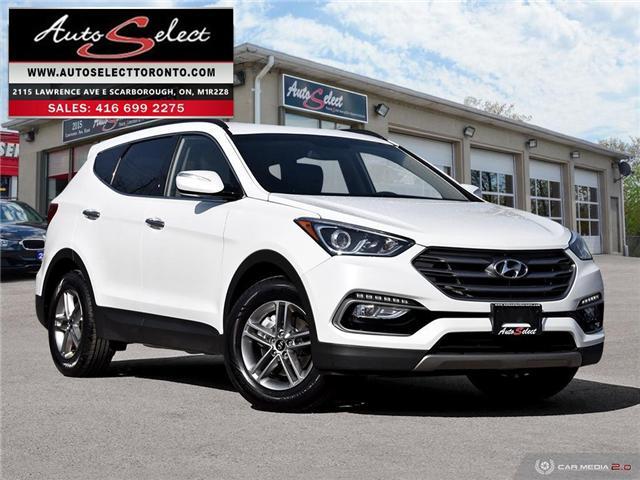 2018 Hyundai Santa Fe Sport AWD (Stk: 1HTF4A9) in Scarborough - Image 1 of 28