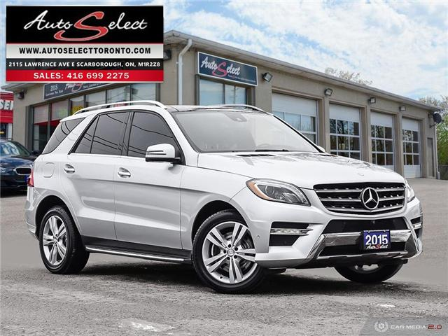 2015 Mercedes-Benz M-Class 4Matic (Stk: 1QMLD74) in Scarborough - Image 1 of 28