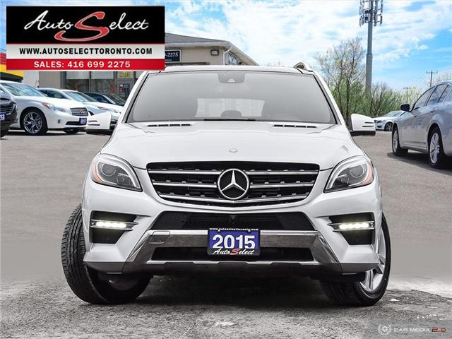 2015 Mercedes-Benz M-Class 4Matic (Stk: 1QMLD74) in Scarborough - Image 2 of 28