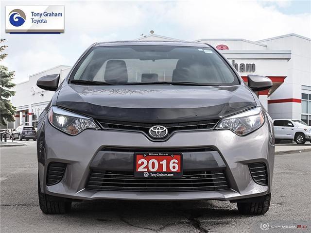 2016 Toyota Corolla LE (Stk: E7746) in Ottawa - Image 2 of 28