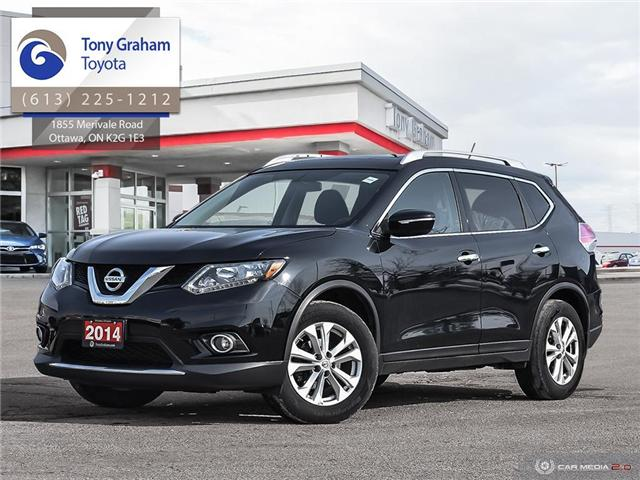 2014 Nissan Rogue SV (Stk: D11015A) in Ottawa - Image 1 of 5