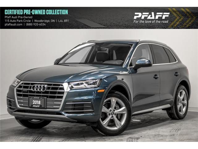 2018 Audi Q5 2.0T Progressiv (Stk: C6522) in Vaughan - Image 1 of 21
