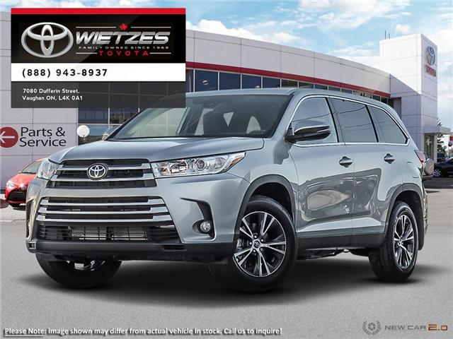 2019 Toyota Highlander LE AWD Convenience Package (Stk: 68353) in Vaughan - Image 1 of 24