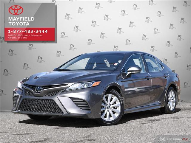 2018 Toyota Camry SE (Stk: 194046) in Edmonton - Image 1 of 27