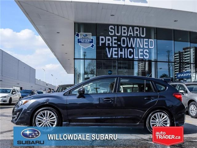 2015 Subaru Impreza 2.0i Sport | TECH | EyeSight | BLINDSPOT ASSIST (Stk: P2719) in Toronto - Image 2 of 26