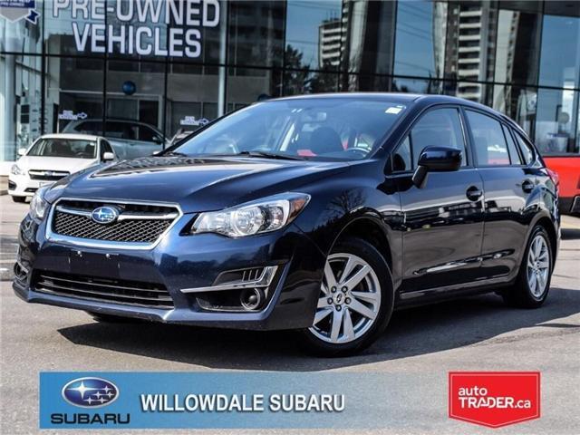 2016 Subaru Impreza 2.0i | TOURING | HEATED SEATS | BLUETOOTH (Stk: P2705) in Toronto - Image 1 of 23