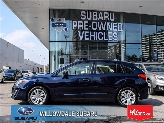 2016 Subaru Impreza 2.0i | TOURING | HEATED SEATS | BLUETOOTH (Stk: P2705) in Toronto - Image 2 of 23