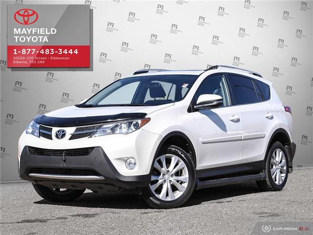 2015 Toyota RAV4 Limited (Stk: 190895A) in Edmonton - Image 1 of 27