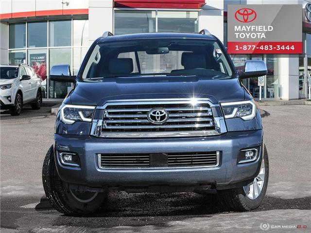 2018 Toyota Sequoia Platinum 5.7L V8 (Stk: 1801567) in Edmonton - Image 2 of 27