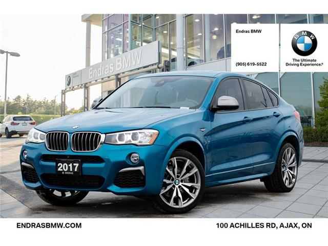 2017 BMW X4 M40i (Stk: 40971A) in Ajax - Image 1 of 22