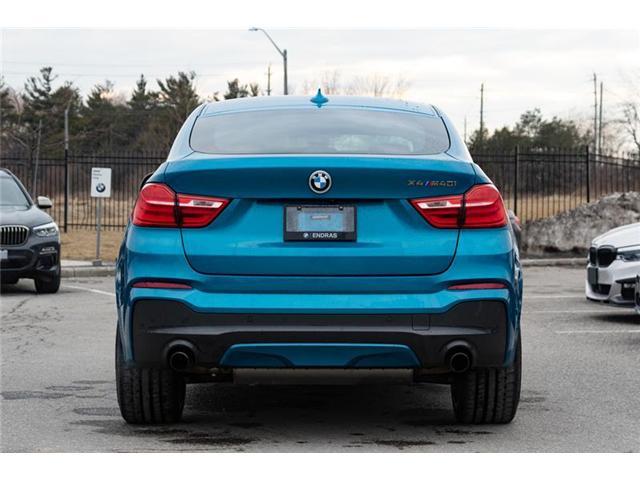 2017 BMW X4 M40i (Stk: 40971A) in Ajax - Image 5 of 22