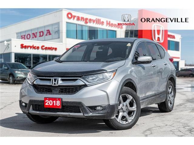 2018 Honda CR-V EX (Stk: F19101A) in Orangeville - Image 1 of 20