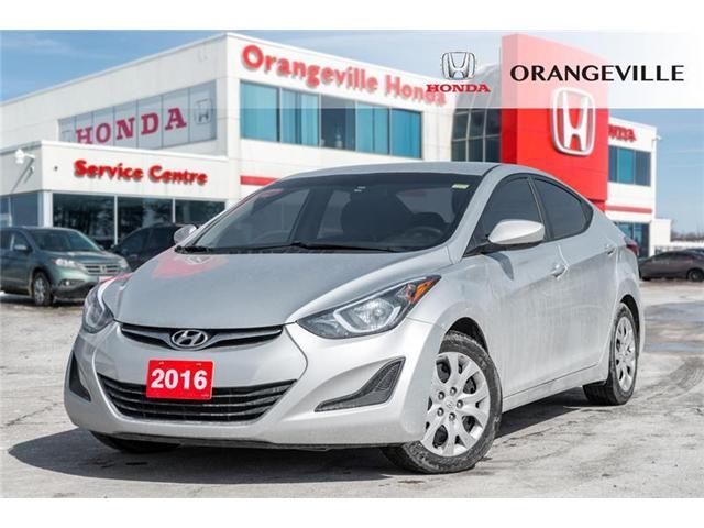 2016 Hyundai Elantra GL (Stk: F19122A) in Orangeville - Image 1 of 18