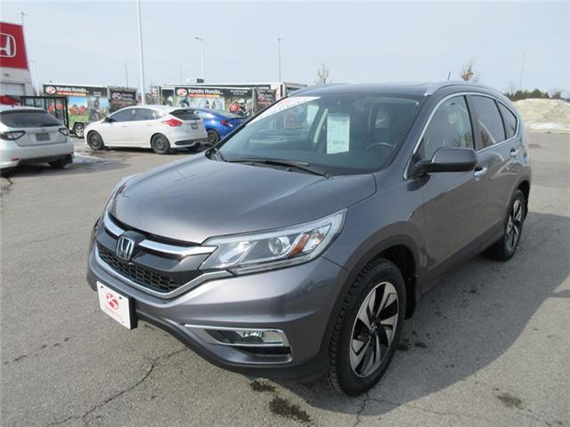 2015 Honda CR-V Touring (Stk: U1068) in Ottawa - Image 1 of 18