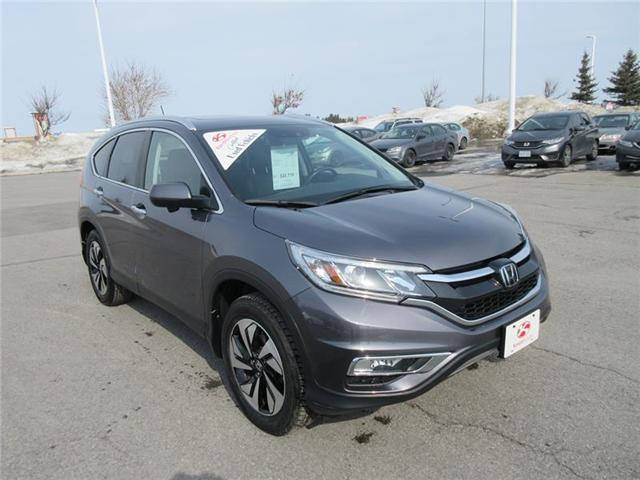 2015 Honda CR-V Touring (Stk: U1068) in Ottawa - Image 2 of 18