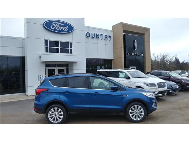 2019 Ford Escape SEL (Stk: ES1199) in Bobcaygeon - Image 1 of 24