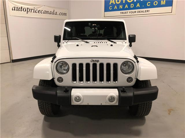 2016 Jeep Wrangler Unlimited Sahara (Stk: H0180) in Mississauga - Image 2 of 19