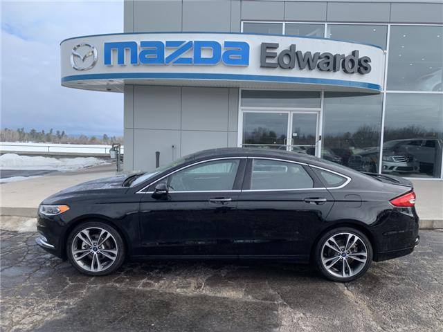 2018 Ford Fusion Titanium (Stk: 21682) in Pembroke - Image 1 of 11