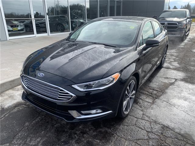 2018 Ford Fusion Titanium (Stk: 21682) in Pembroke - Image 2 of 11