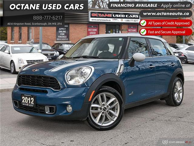 2012 MINI Cooper S Countryman Base (Stk: ) in Scarborough - Image 1 of 25