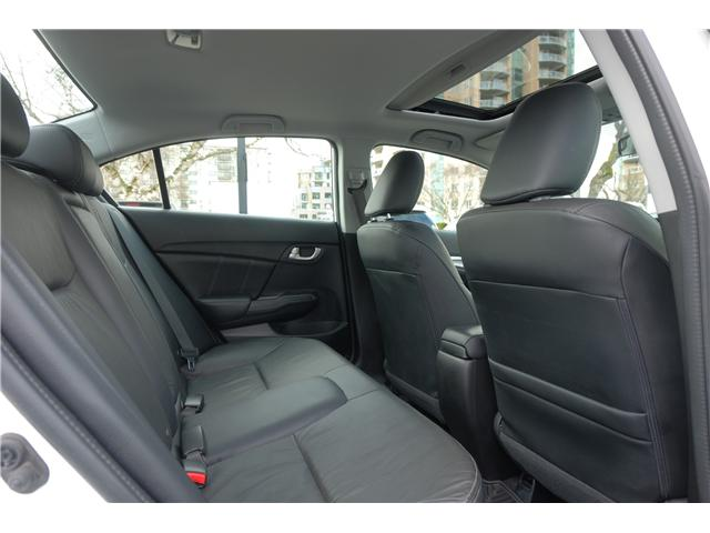 2014 Honda Civic Touring (Stk: 550268A) in Victoria - Image 19 of 22