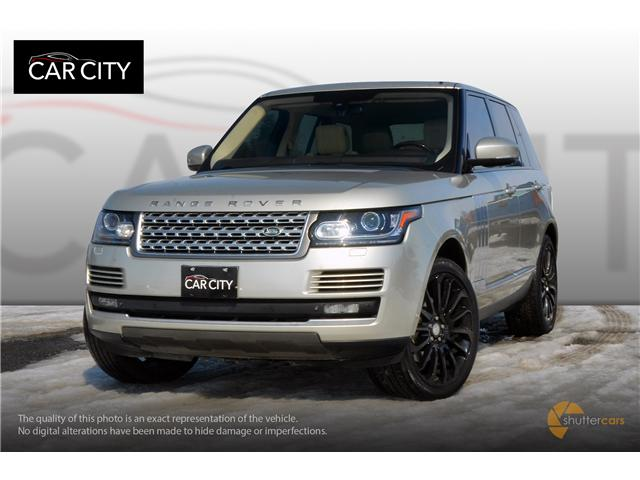 2014 Land Rover Range Rover 3.0L V6 Supercharged HSE (Stk: 9876) in Ottawa - Image 1 of 21