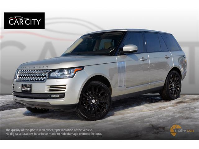 2014 Land Rover Range Rover 3.0L V6 Supercharged HSE (Stk: 9876) in Ottawa - Image 2 of 21