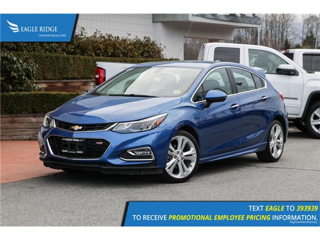 2018 Chevrolet Cruze Premier Auto (Stk: 189426) in Coquitlam - Image 1 of 16