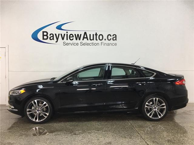 2018 Ford Fusion Titanium (Stk: 34639W) in Belleville - Image 1 of 30